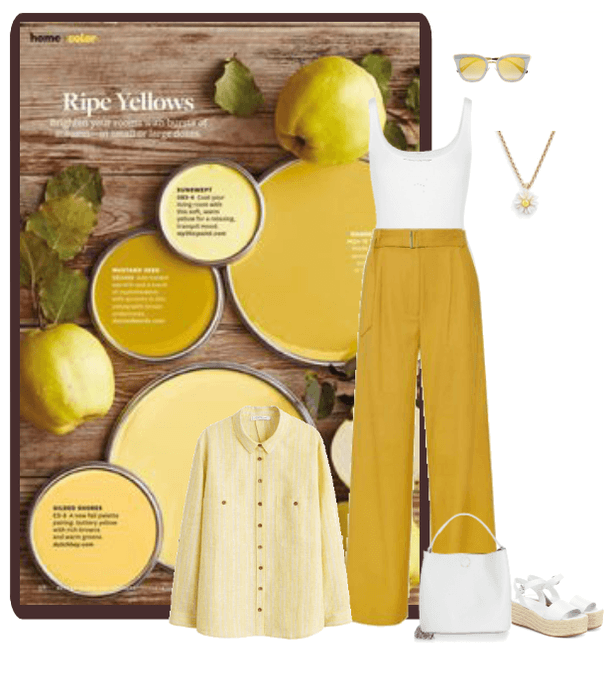 rich yellows