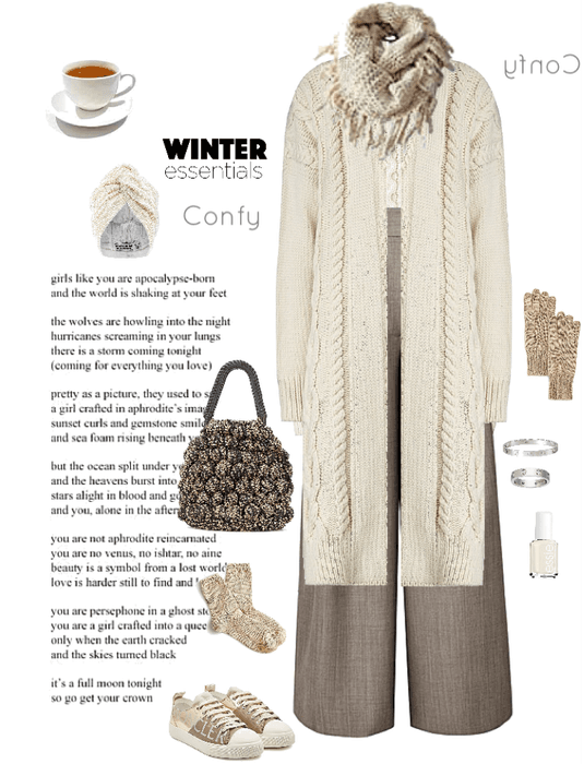 Winter confy style