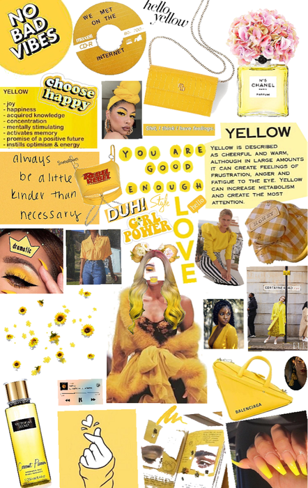 yellow means endometriosis to me 🎗🎗