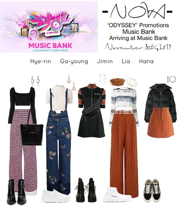 -NOVA- 'ODYSSEY' Arriving at Music Bank