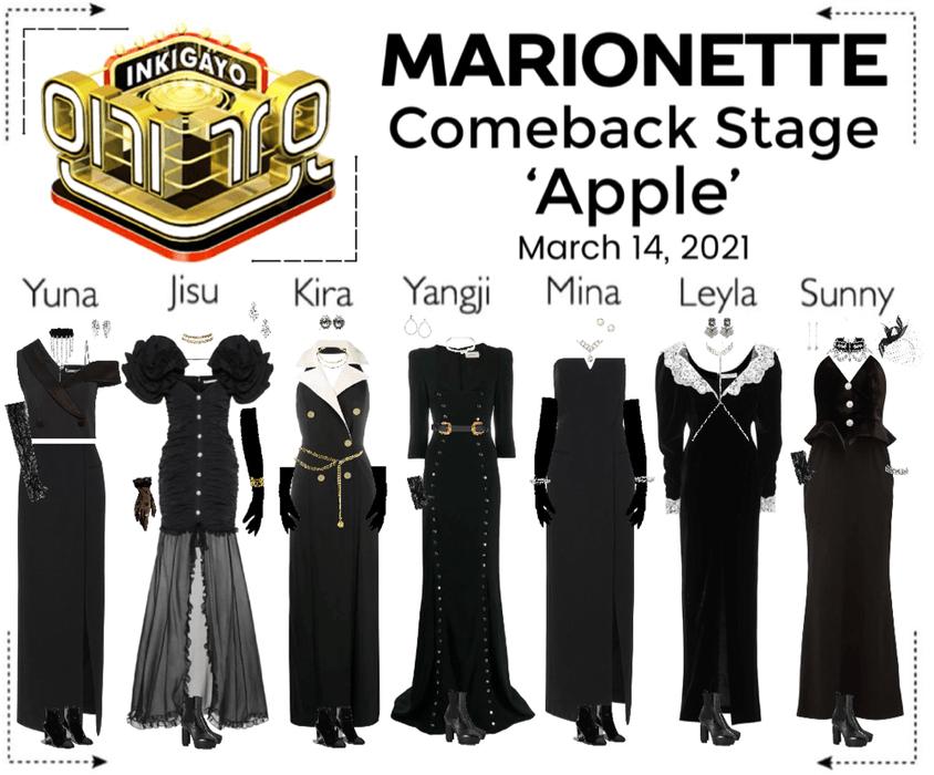 마리오네트 (MARIONETTE) - [INKIGAYO] Comeback Stage