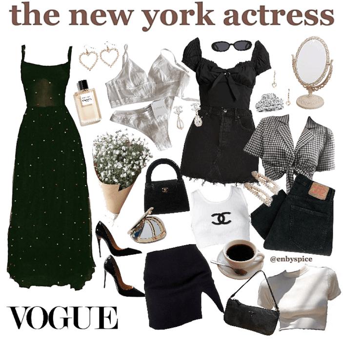 the new york actress