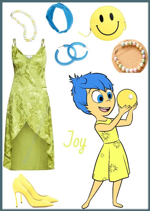 Joy outfit - Disneybounding