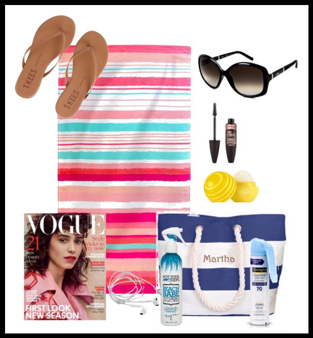 beach/pool essentials