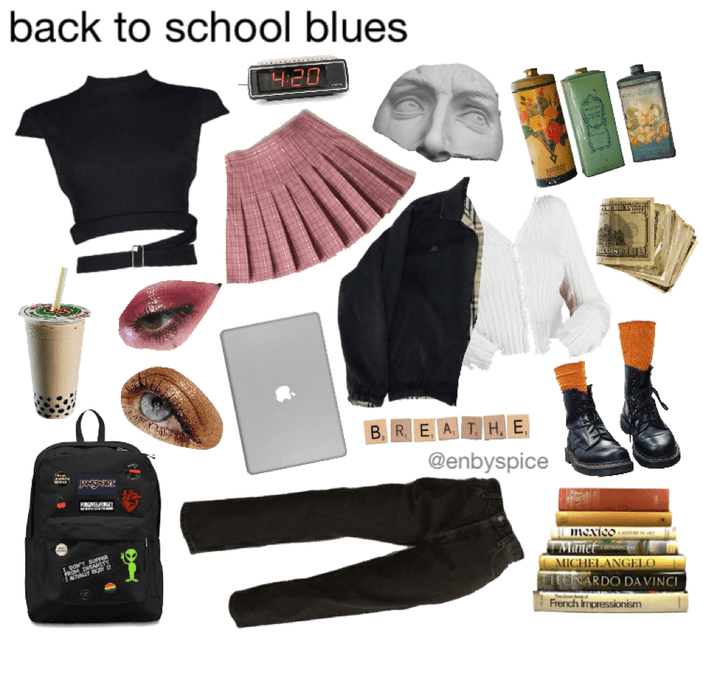 back to school blues