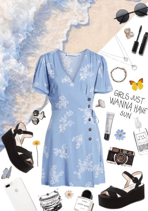 blue summer 🐬