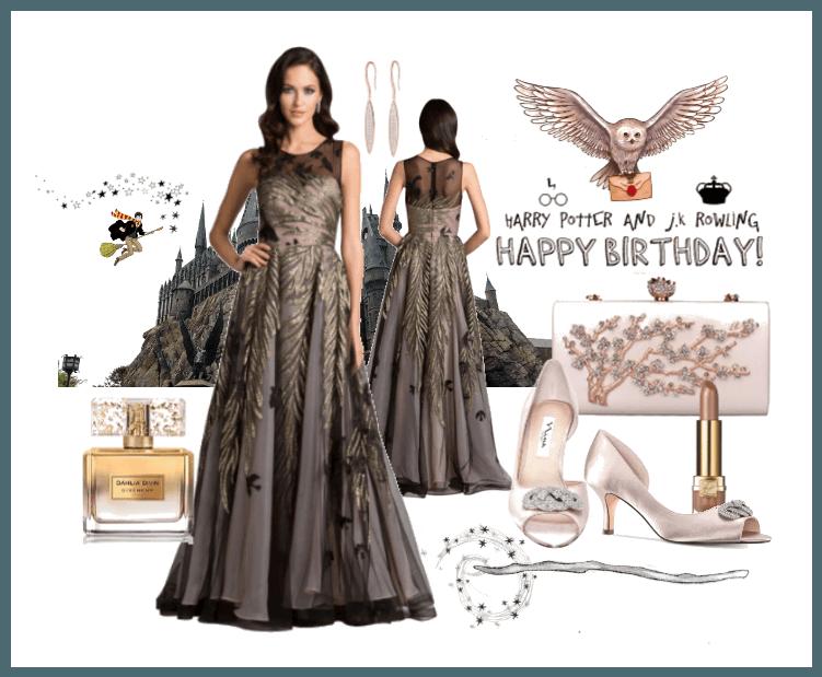 Happy Birthday Dress JK Rowling