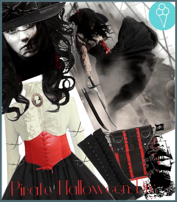 # Halloween costume Diy # Shoplook # Pirate Diy