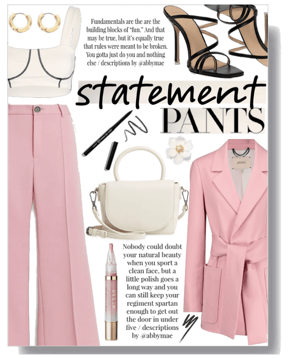 Statement trousers III.