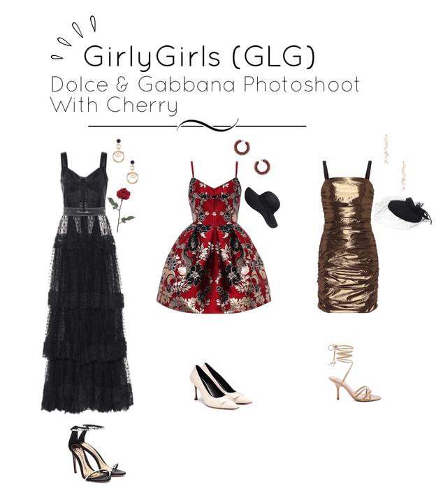 GirlyGirls (GLG) - Dolce & Gabbana Photoshoot (Cherry)