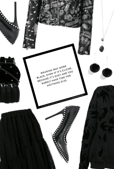 When In Doubt, Wear Black