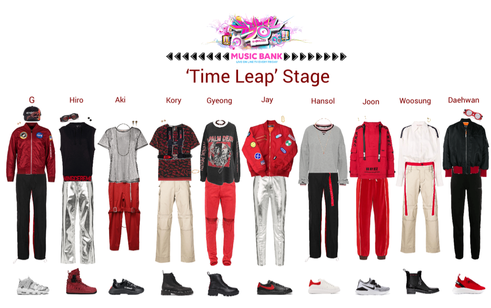 Lynx//Time Leap Music Bank Stage