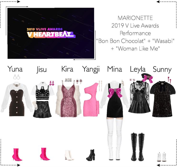 MARIONETTE (마리오네트) 2019 V Live Awards | Performance + Won 'Global Rookie Top 5'
