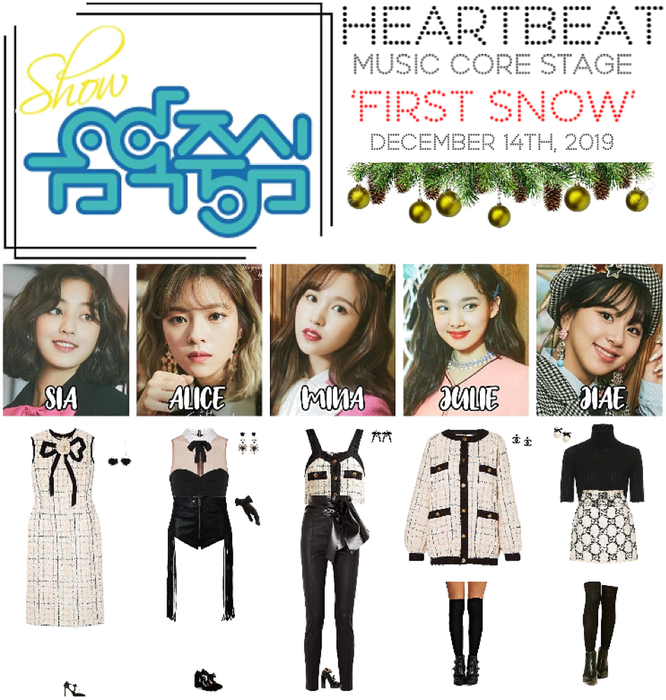 [HEARTBEAT] 121419 SHOW! MUSIC CORE STAGE | 'FIRST SNOW'