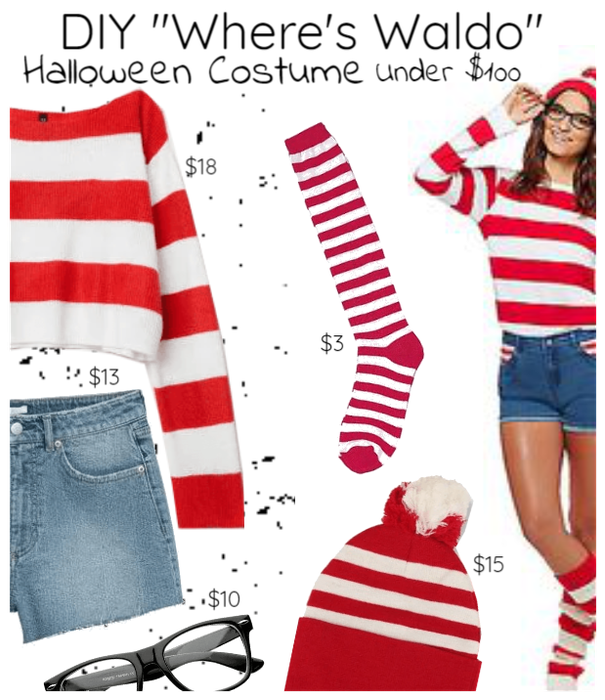 Where's Waldo DIY Under $100