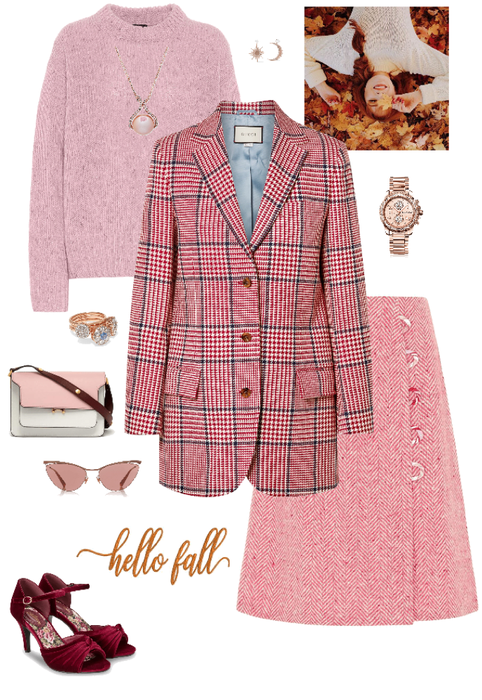 Pink for fall