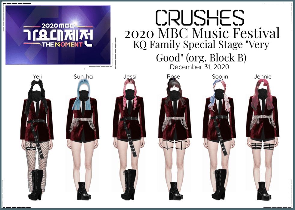 Crushes (호감) 2020 MBC Music Festival