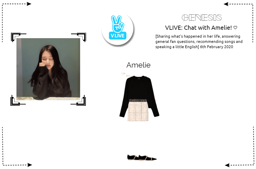 GENESIS (게네시스) Amelie - Chat with Amelie ♡ VLIVE