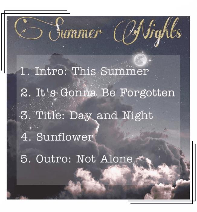 FLAME - 'Summer Nights' Tracklist