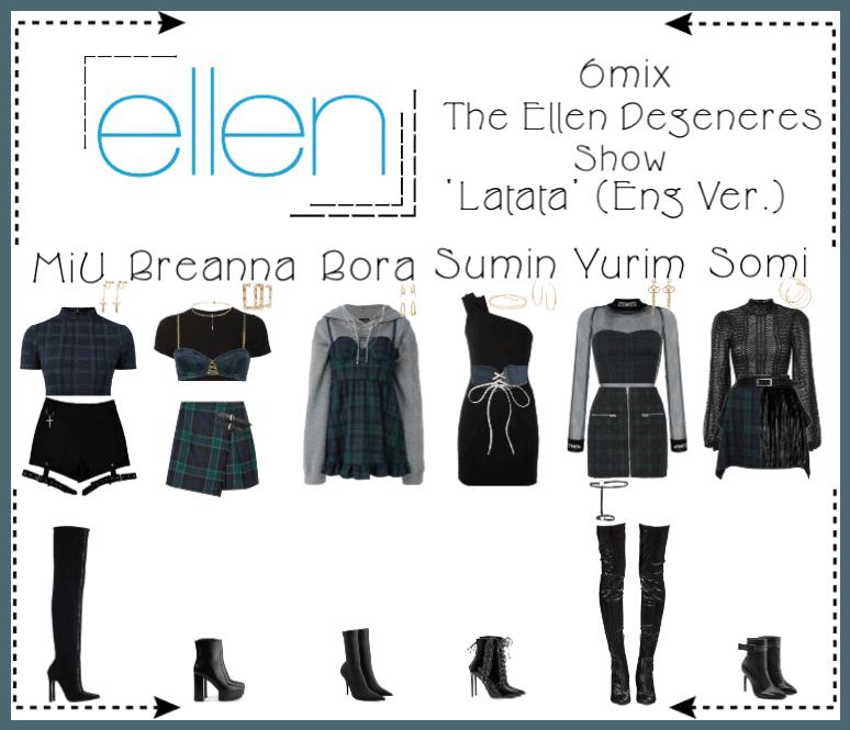 《6mix》The Ellen Degeneres Show