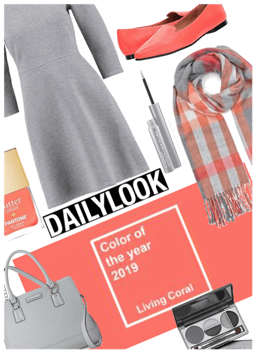 Daily Look/2019 Color of year/Coral
