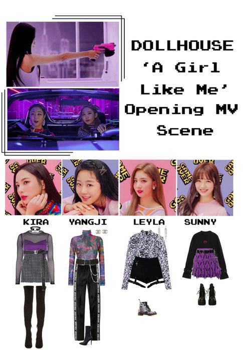 {DOLLHOUSE} 'A Girl Like Me' MV Opening Scene