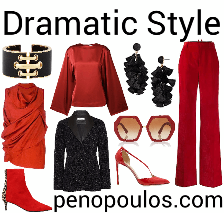dramatic style