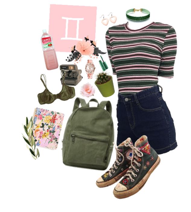gemini: pink&green