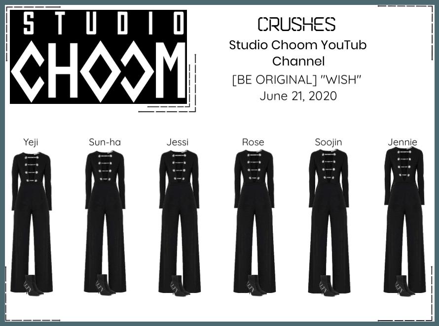 Crushes (호감) Studio Choom YouTube Video