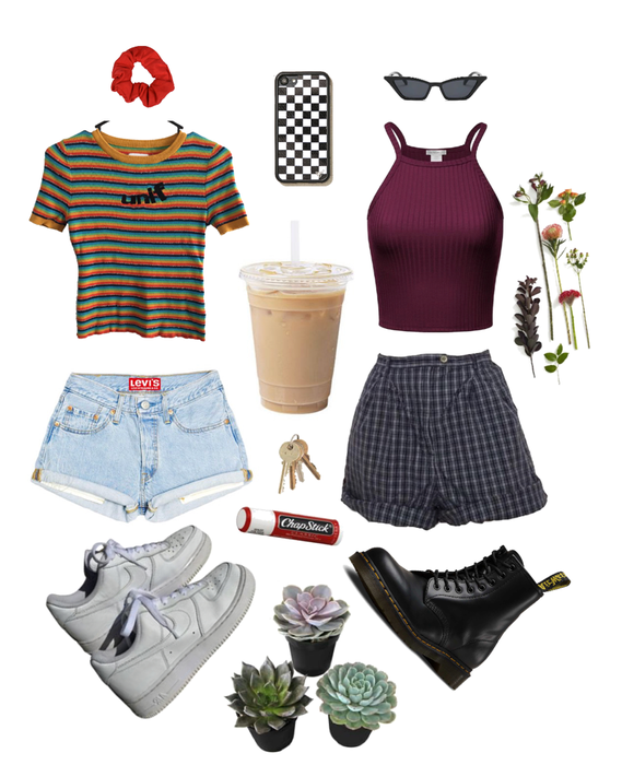 2 emma chamberlain inspired outfits