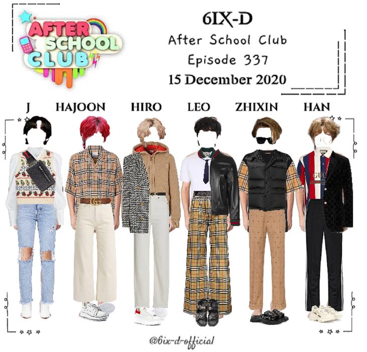 6IX-D [씩스띠] After School Club 201215