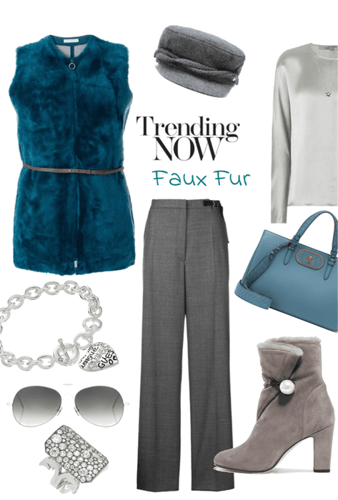 Faux Fur with a Silver Lining