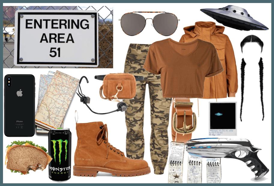 Area 51 Raid Moodboard