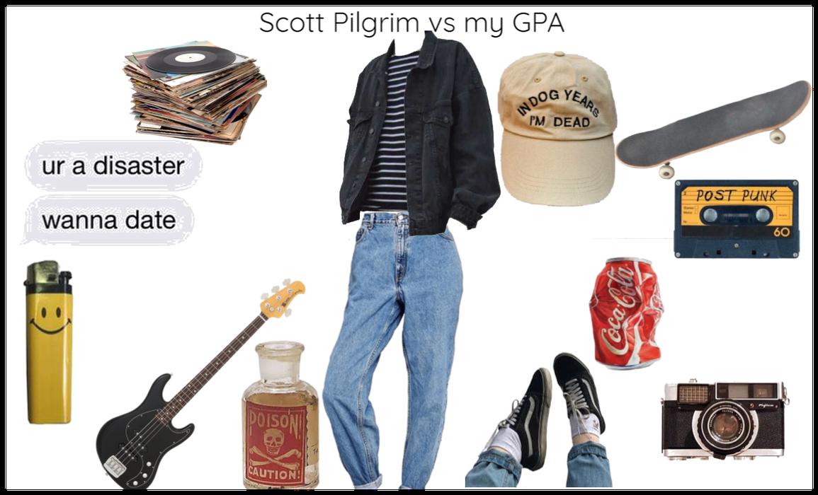 Scott Pilgrim vs my GPA