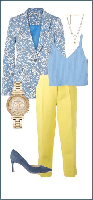 Light summer/cool summer yellow