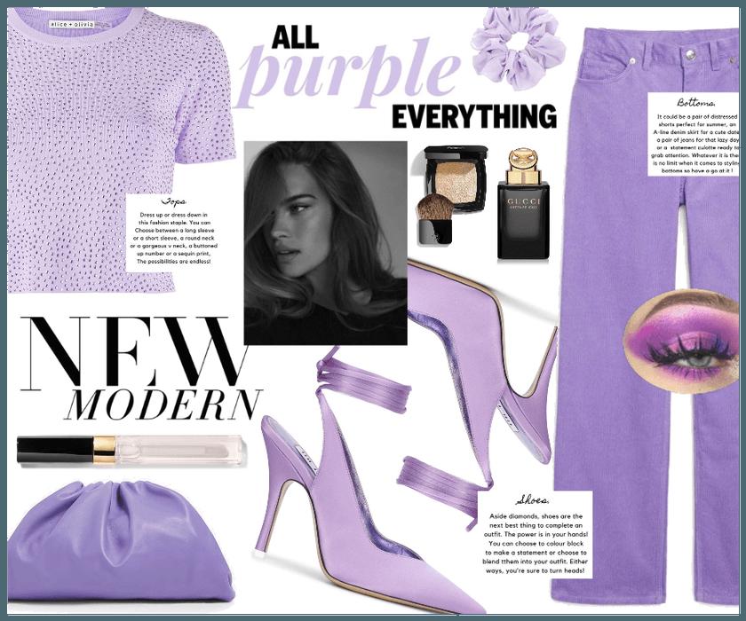 Summer Monochrome: Purple