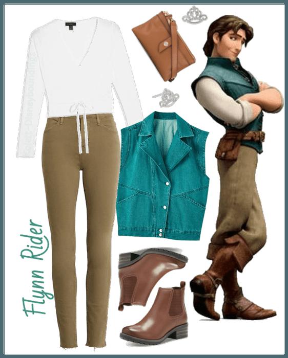 Flynn Rider outfit - Disneybounding - Disney