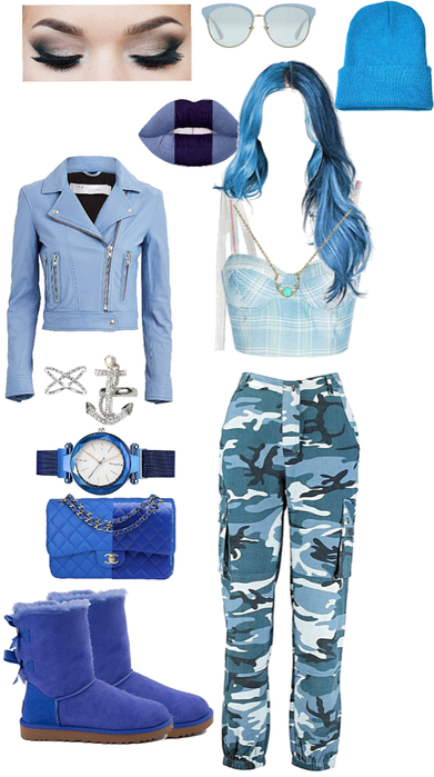 blue sea queen lady