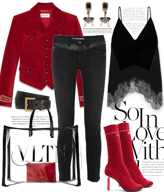 The Red 'Fanfare' Jacket.