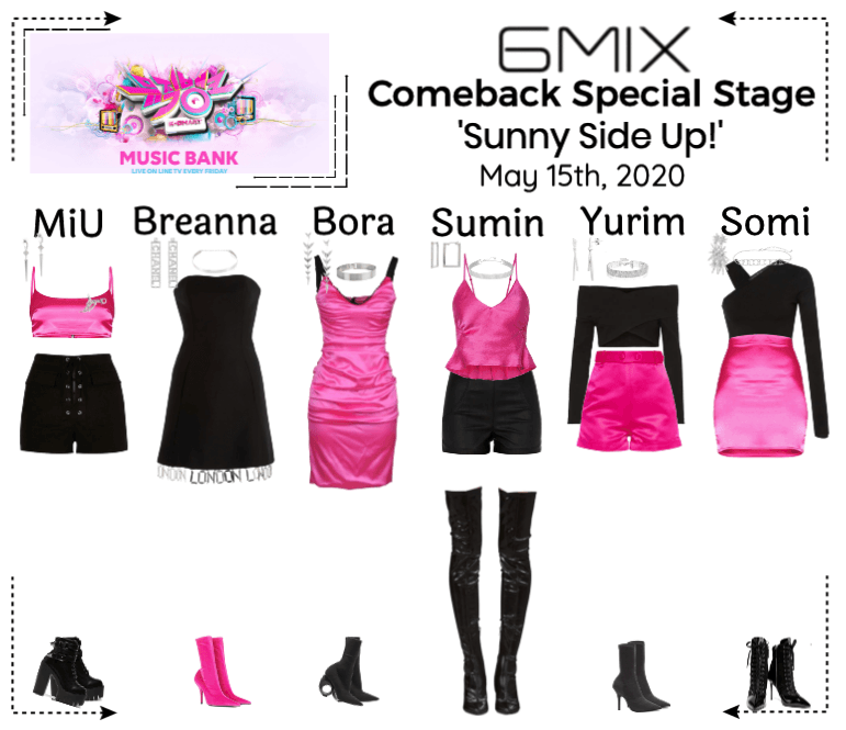 《6mix》Music Bank Comeback Special Stage