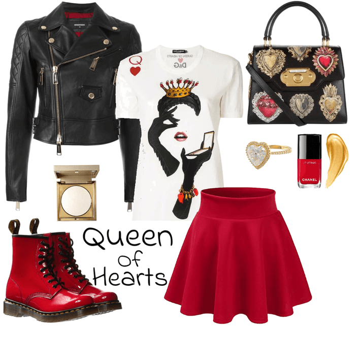 THE QUEEN OF HEARTS BRINGING HEART DISEASE AWARENESS