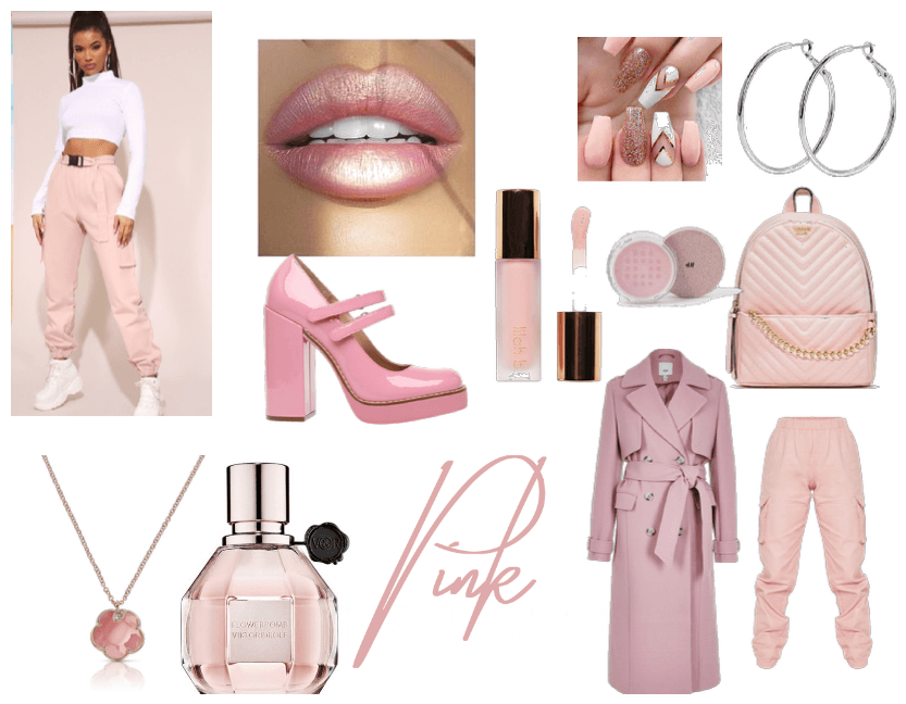 feel the vibes: light pink