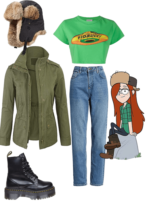 Inspired by Wendy from Gravity Falls
