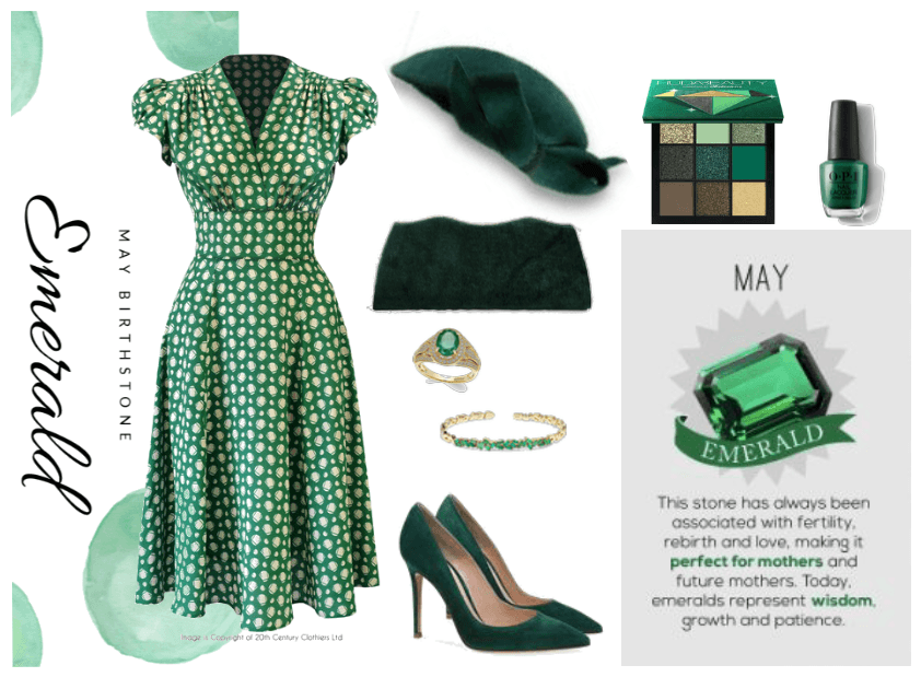 Emerald stone look