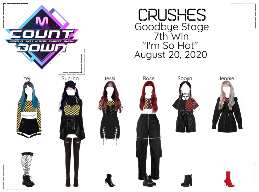 """Crushes (호감) """"I'm So Hot"""" 7th Win Goodbye Stage"""