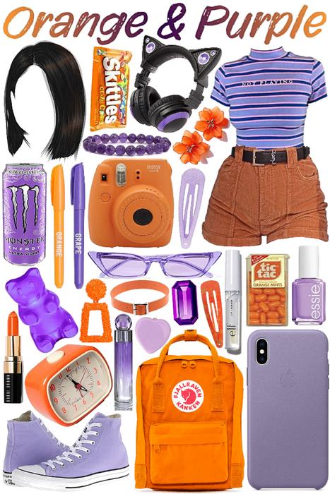 Purple & Orange