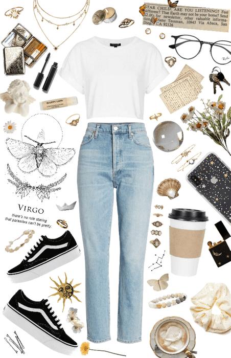 Virgo: white witch 🐚