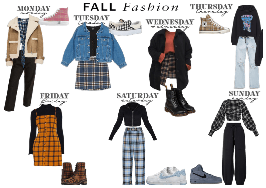 Fall Fashtion day of the week