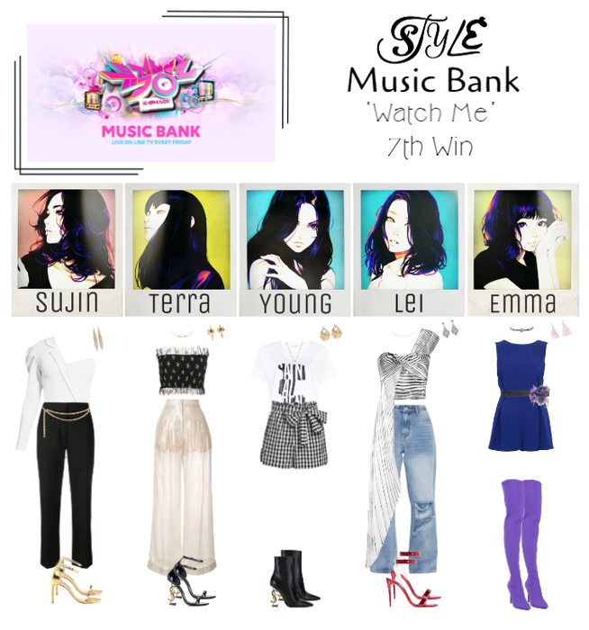 Music Bank 'Watch Me' 7th Win