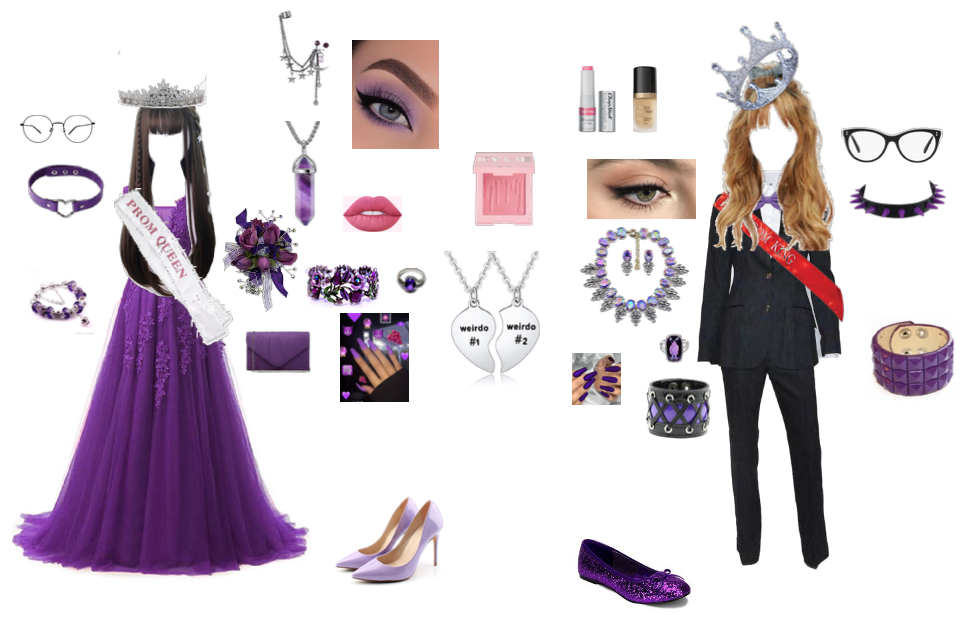 """""""Secretive but not ashamed"""" Prom Outfit"""